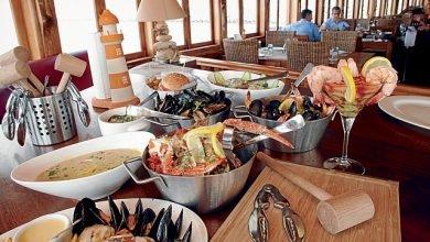 مطاعم بحرية في دبي