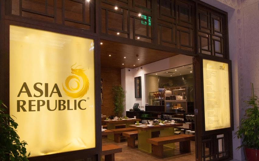 مطعم أسيا ريبابلك Asia Republic
