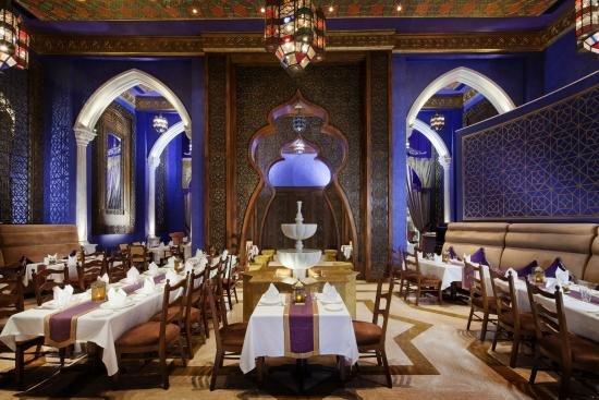 مطعم النافورة من مطاعم لبنانية في دبي