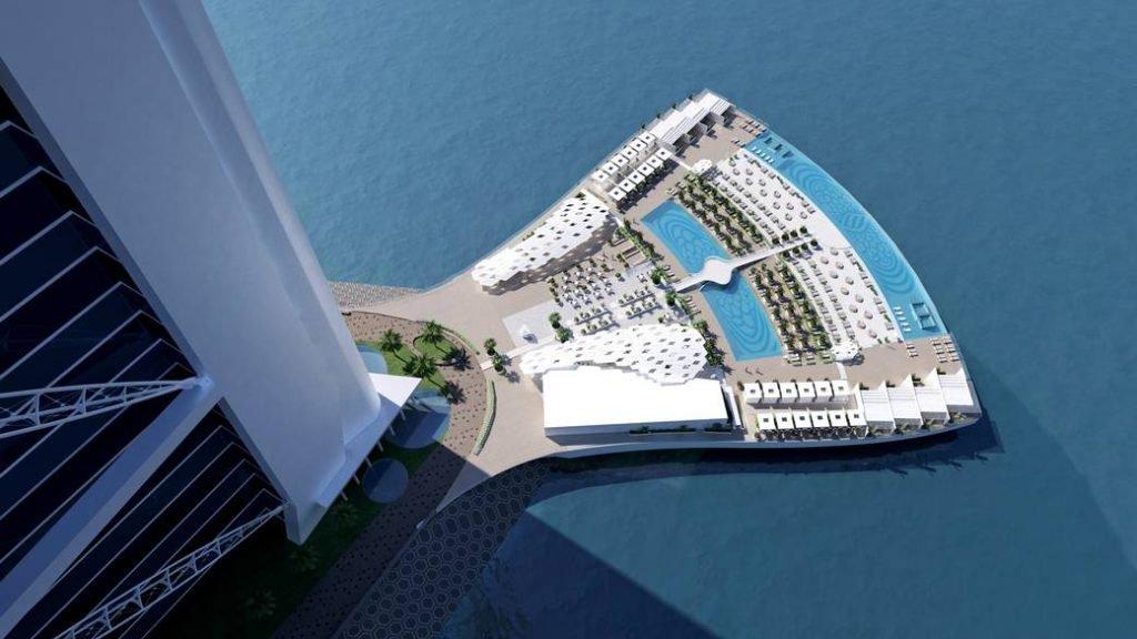 ديكورات فندق برج العرب دبي