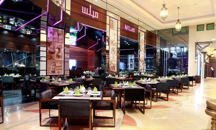 مطعم ميلس في دبي مول