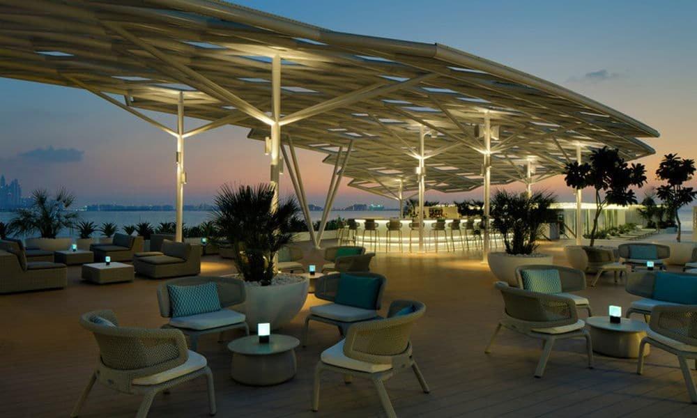 مطعم سكايب برج العرب