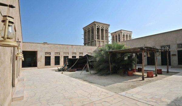 بيت الهجن من أحد متاحف دبي المميزة