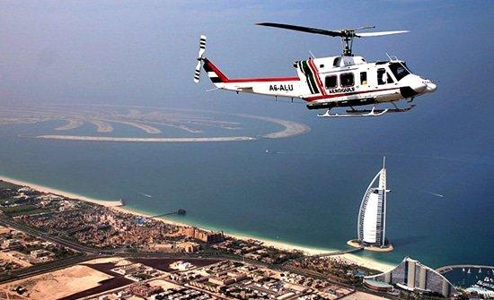 هليكوبتر في دبي