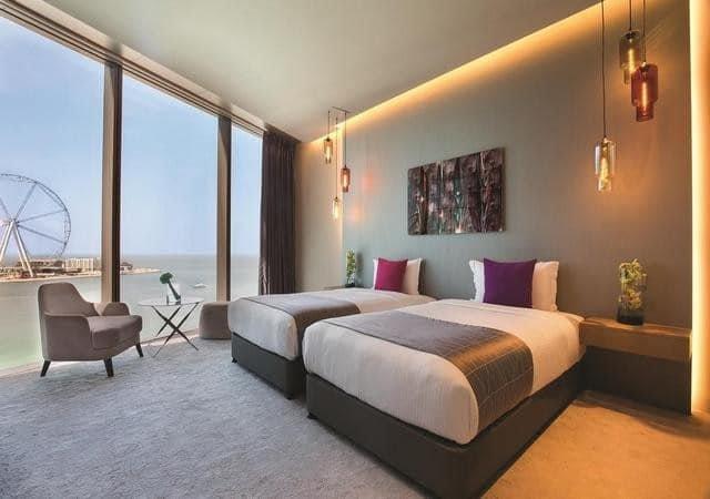 أفخم فنادق جي بي ار دبي