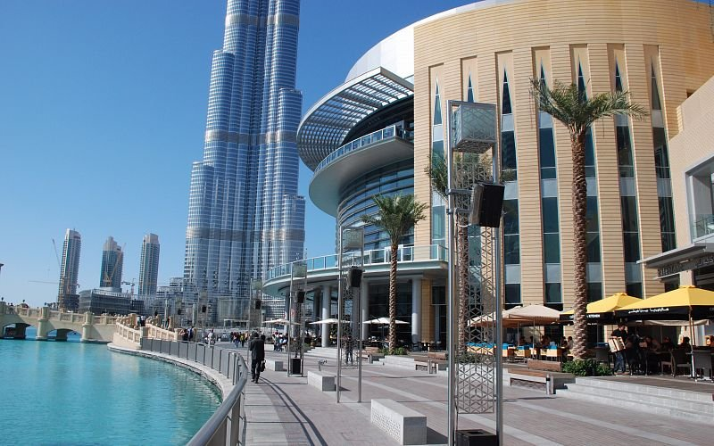صورة قائمة مطاعم دبي مول