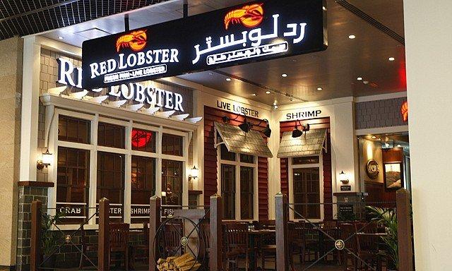 مطعم مأكولات بحرية في دبي مول