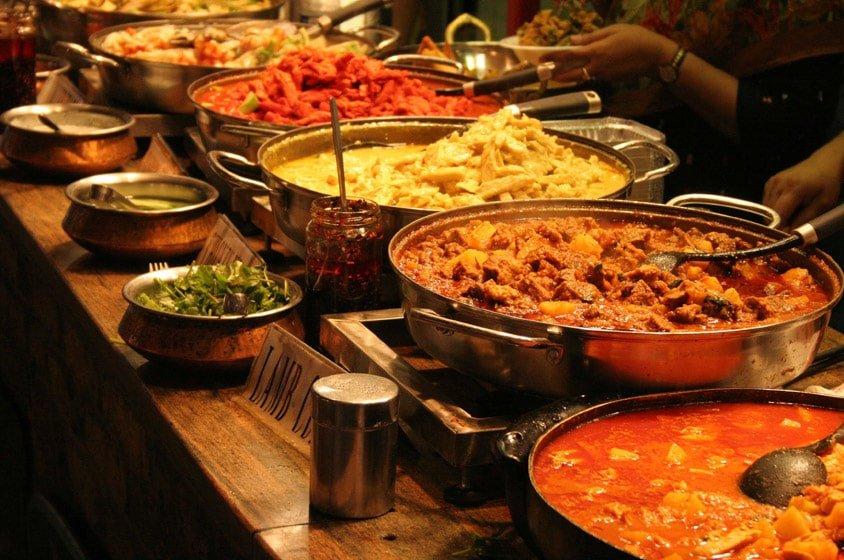 مطعم قصر الهند من اشهر وافضل مطاعم هندية في دبي