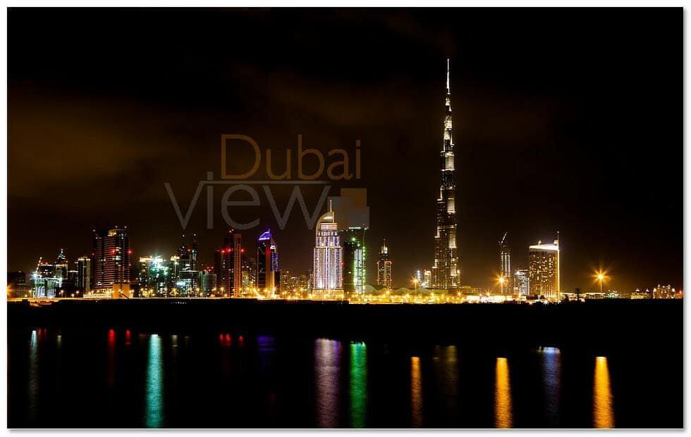 صورة ارتفاع برج خليفة