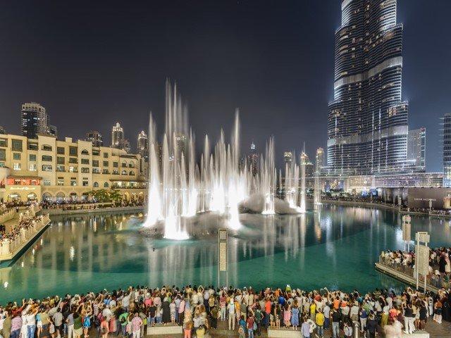 أفضل النشاطات في نافورة دبي الراقصة