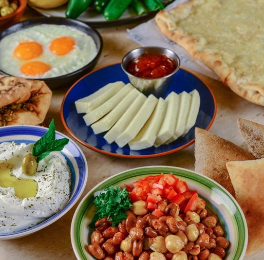 افطار مطعم الصفدي دبي
