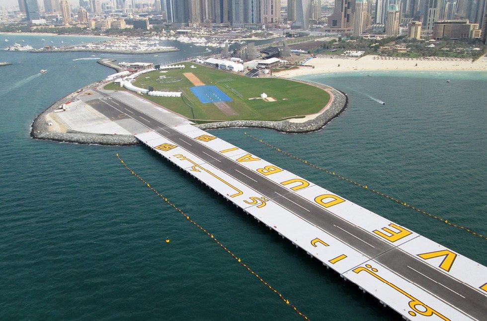 سكاي دايف من أمتع الأماكن السياحية في دبي