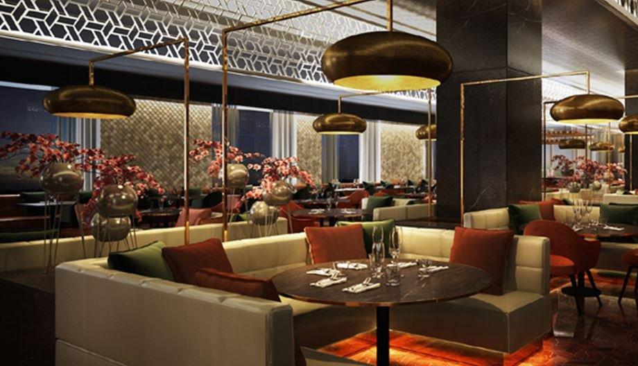 مطعم أوليا في فندق كمبينسكي مول الإمارات