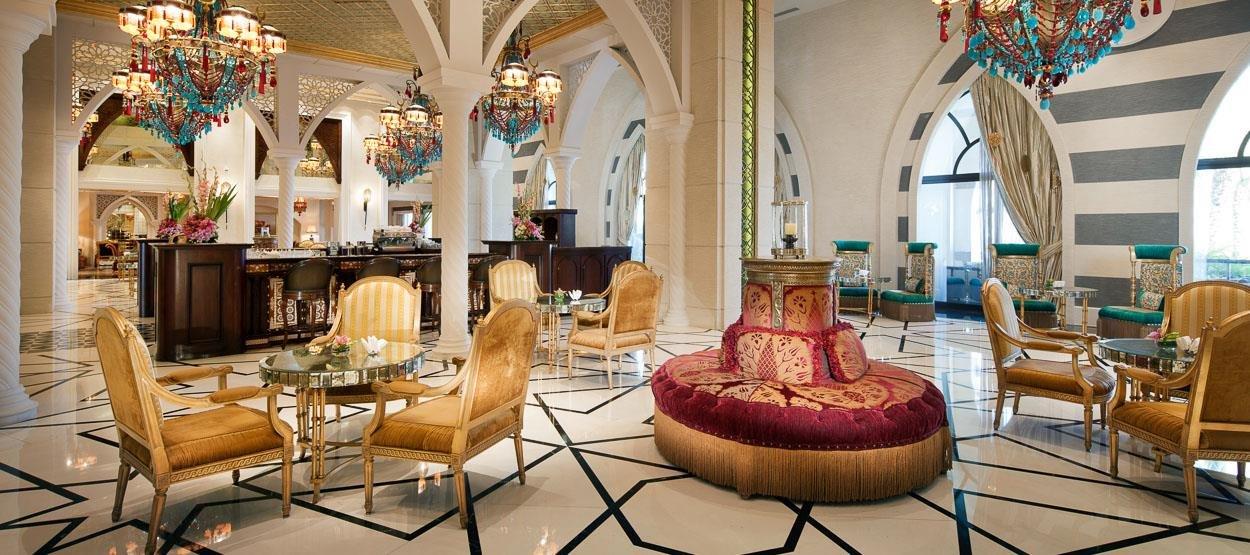 صورة مطعم ردهة السلطان في فندق جميرا زعبيل سراي