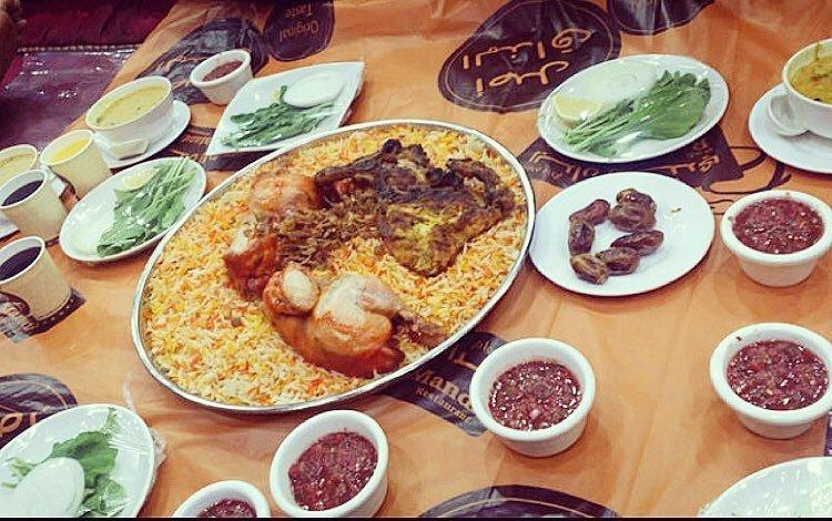 مطعم ريدان للمندي مطعم يمني في دبي