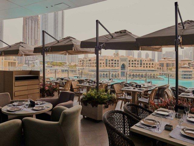مطعم بابل من افضل مطاعم دبي مول