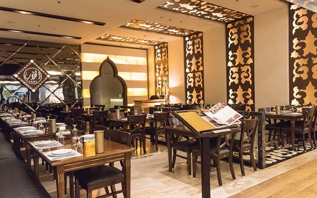 قائمة أبرز المطاعم في مول الامارات