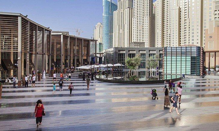 صورة أفضل مناطق التنزه والتسوق فى الهواء الطلق فى دبي