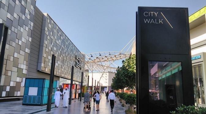 سيتي ووك دبي من افضل اماكن سياحية في دبي للعائلات