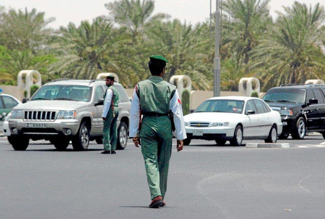 المخالفات المرورية دبي