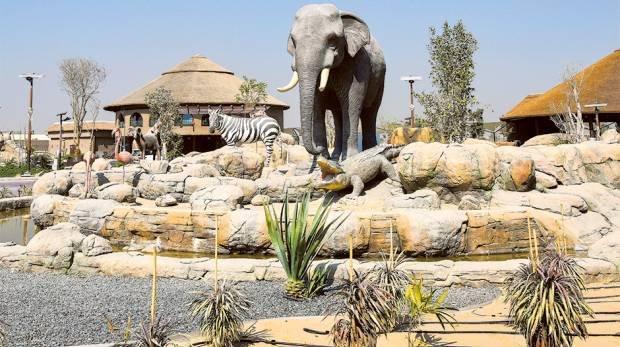 حديقة سفاري دبي من اشهر حدائق دبي
