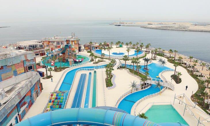 منتزه لاغونا المائي- لامير دبي