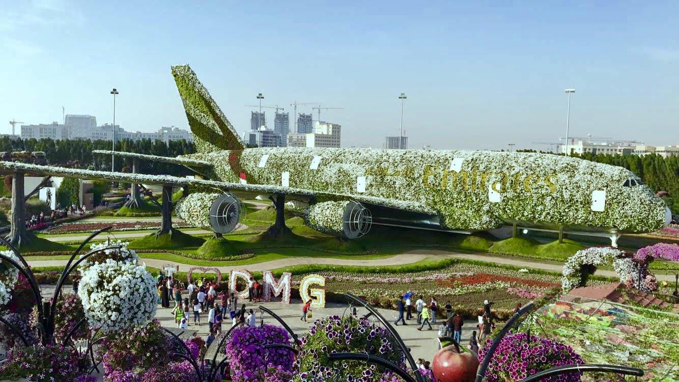 ميراكل جاردن - أماكن سياحية في دبي للأطفال