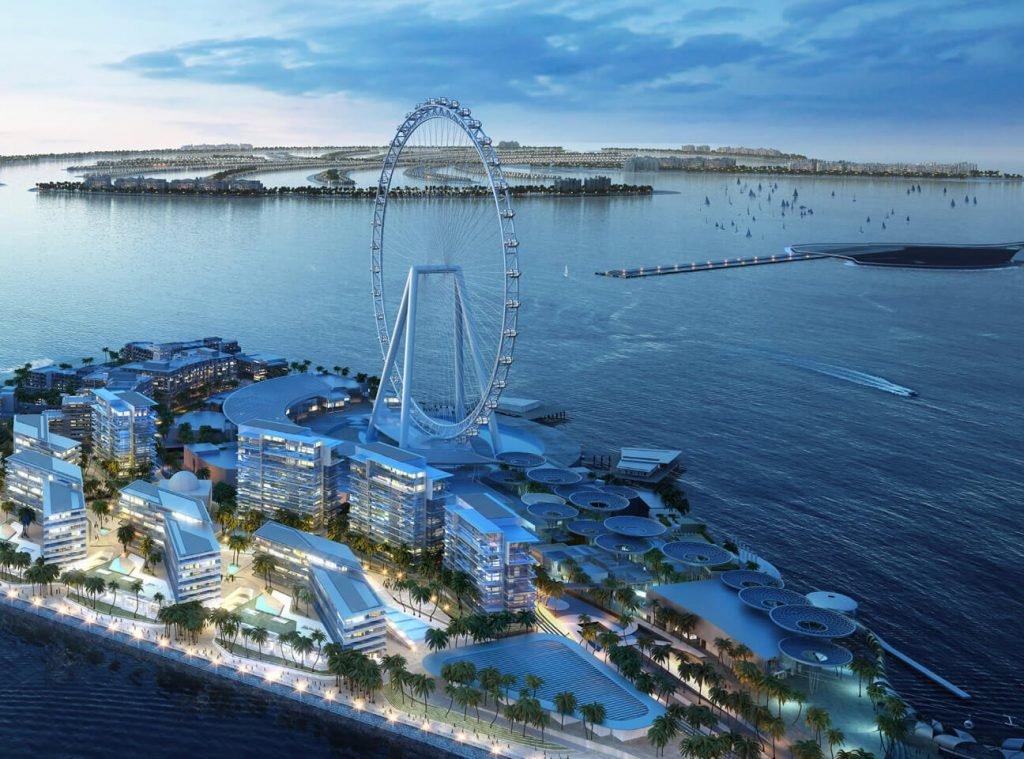 فنادق جزيرة بلوواترز دبي