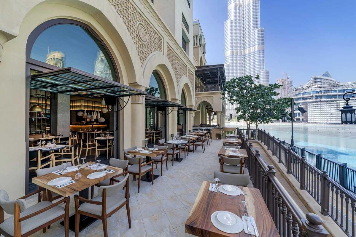 مطاعم جزيرة بلوواترز في إمارة دبي