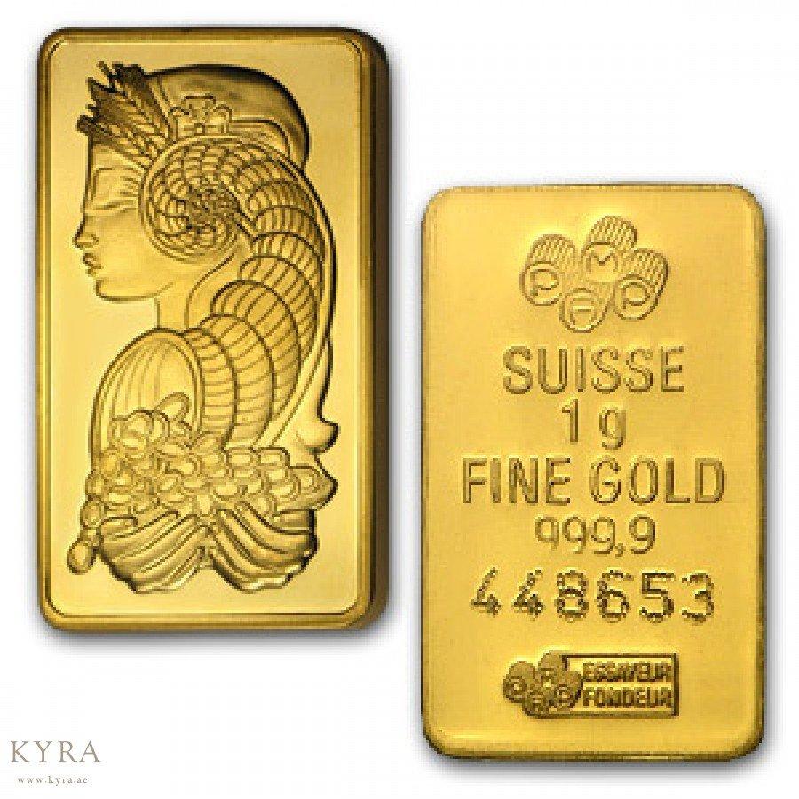 سعر الذهب اليوم في الامارات