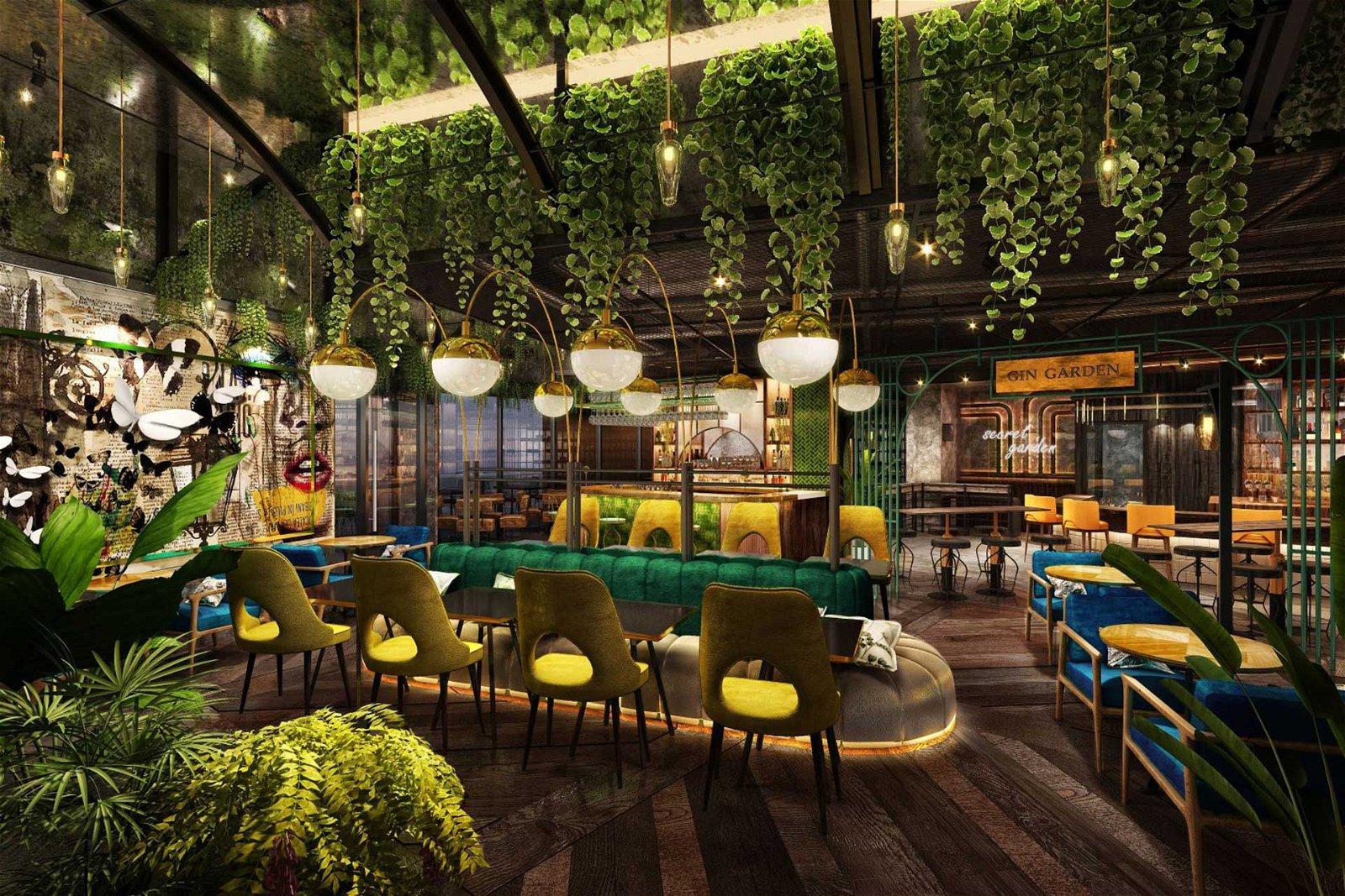 the london project restaurant dubai