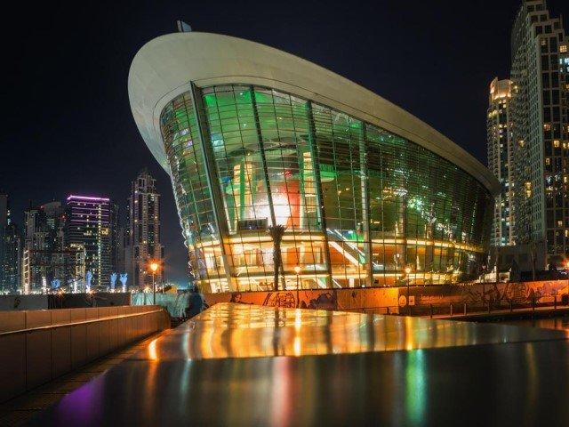 اوبرا دبي من مناطق الجذب السياحي في دبي