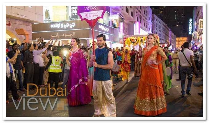 شارع الرقة من اشهر شوارع دبي