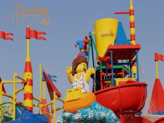 أنشطة في حديقة ليغولاند المائية دبي الامارات