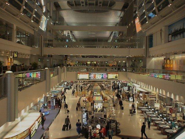مطار دبي الدولي مبنى 1