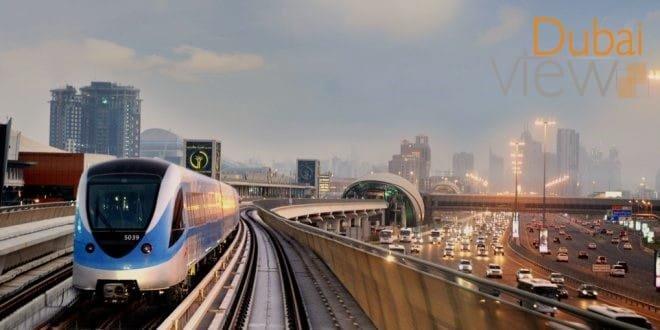 خريطة محطات مترو دبي وأشهر الأماكن السياحية القريبة
