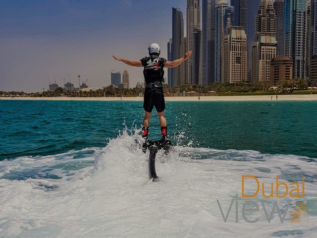 شاطئ الجي بي ار أحد أهم شواطئ دبي