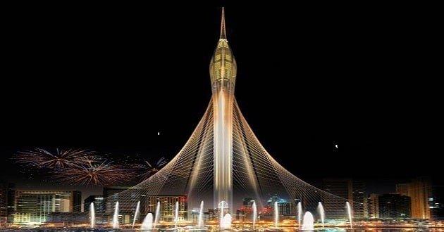 برج خور دبي من ابراج دبي المستقبلية