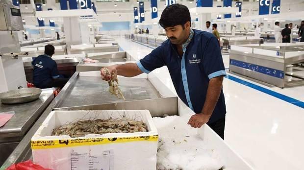 سوق السمك في دبي