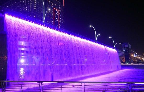 الخدمات المتوفرة في قناة دبي المائية