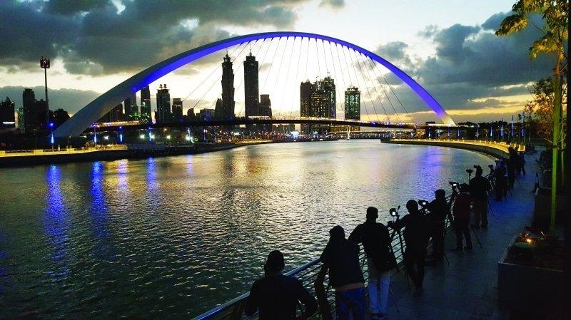 قناة دبي المائية اماكن سياحية في دبي شهر العسل