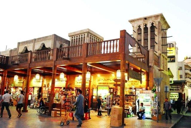 صورة السوق الكبير دبي ذاكرة تراث المدينة