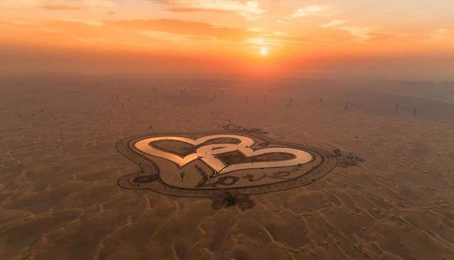 بحيرة الحب دبي