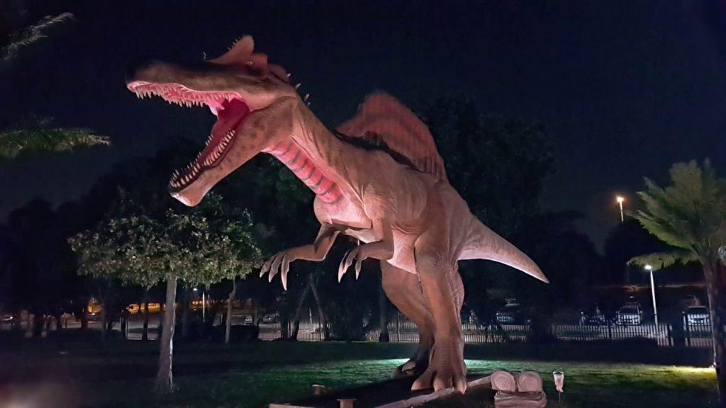 حديقة الديناصورات دبي