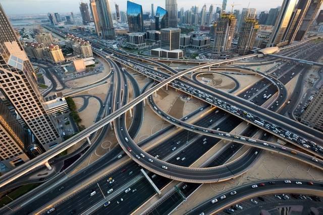 اسماء شوارع دبي المشهور