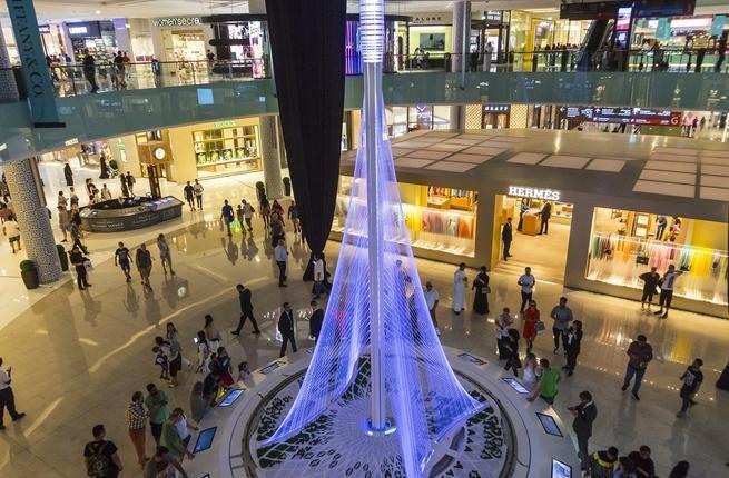 افضل الانشطة في دبي مول