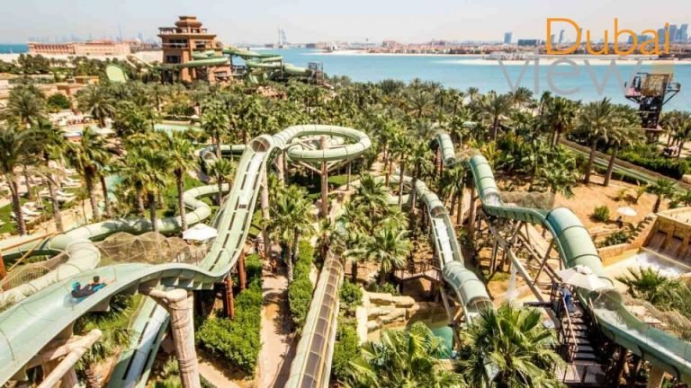 ملاهي دبي واشهر 7 مدن ترفيهية