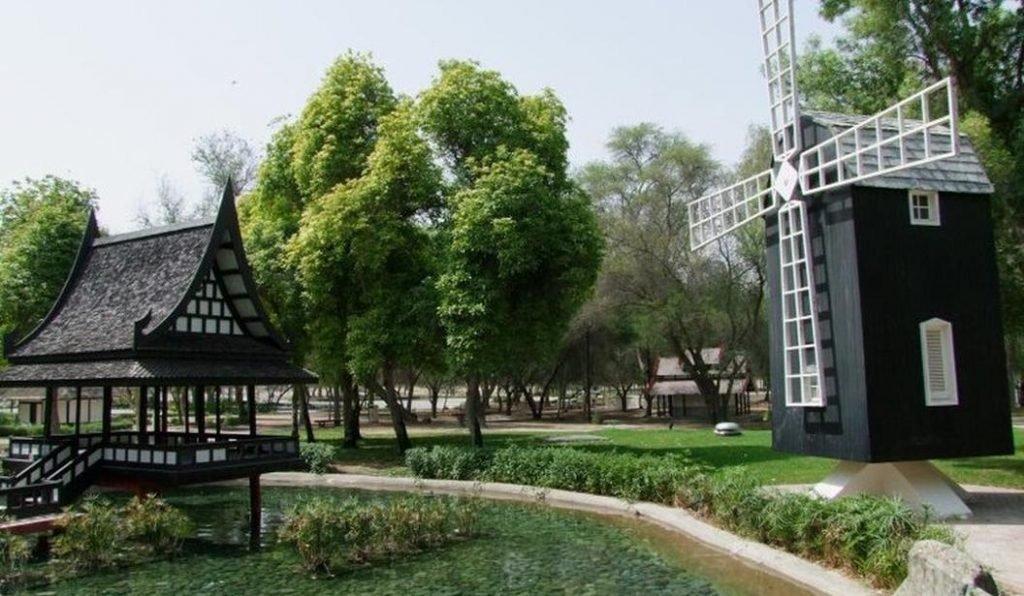 حديقه مشرف دبي