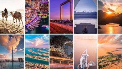 صورة أكثر 10 أماكن شهرة في دبي على الإنستغرام