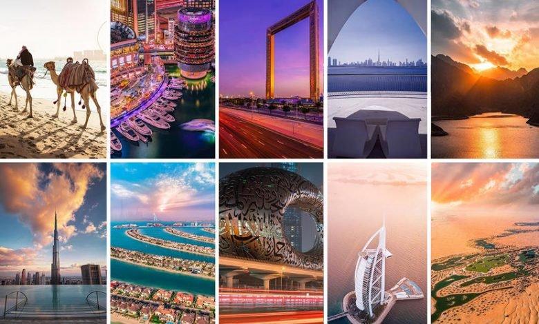 أكثر 10 أماكن شهرة في دبي على الإنستغرام